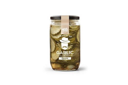 Dillicious Garlic Pickles - crinkle cut