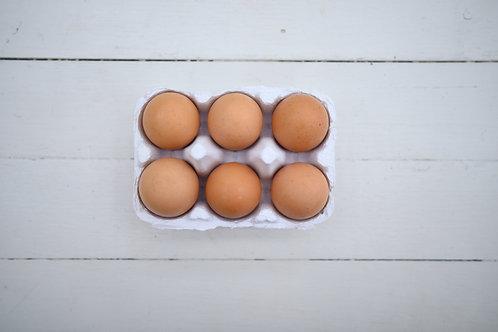 6 Burd Free Range Eggs
