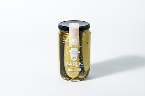 Dillicious Garlic Halves, Straight Up