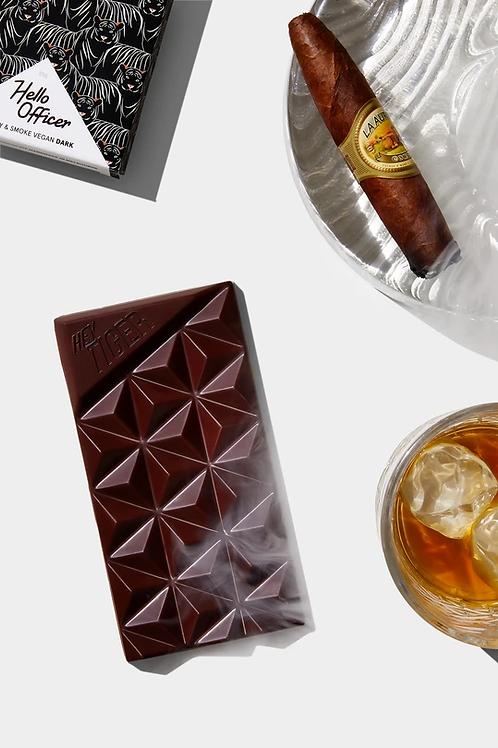 """Hello Officer"" Whiskey & Smoke Chocolate"