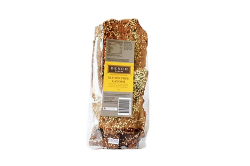 Organic red sorghum, buckwheat & black sesame lavosh