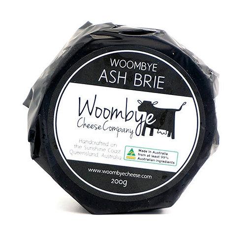 Woombye Cheese Ash Brie - Mini Wheel