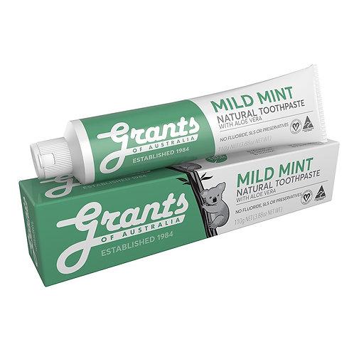 Grants Toothpaste - Mild Mint