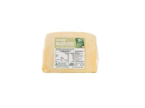 Semi-matured organic Nabucco cheese