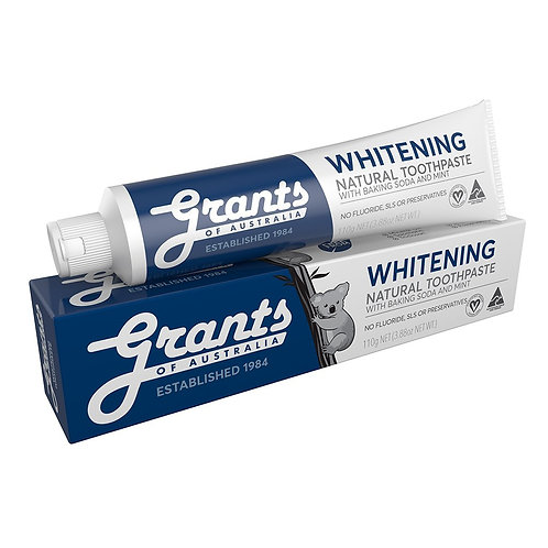 Grants Toothpaste - Natural Whitening