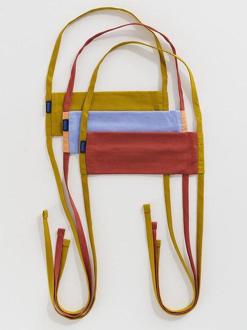 Fabric Mask Set by Baggu -  Mesa (x3)