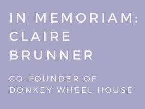 IN MEMORIAM - Claire Brunner