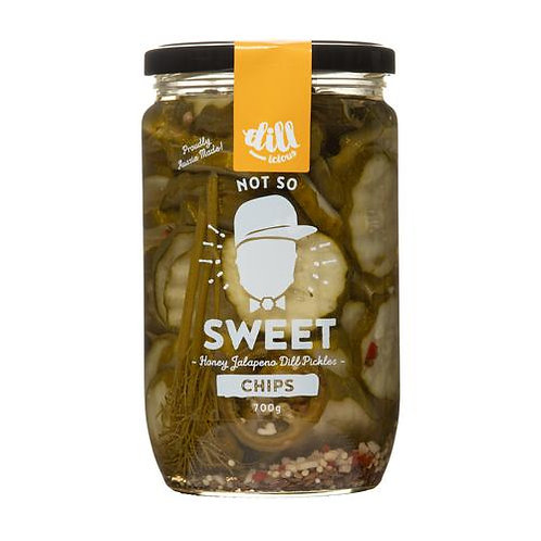 Dillicious Pickle Chips - Sweet