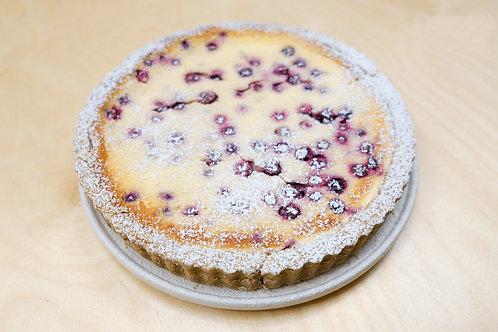 Mustikkapiirakka (finnish blueberry pie)