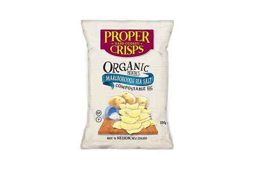Organic Crisps - home compostable