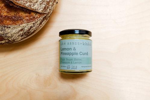Lemon & Pineapple Curd, a Jam Hands collab