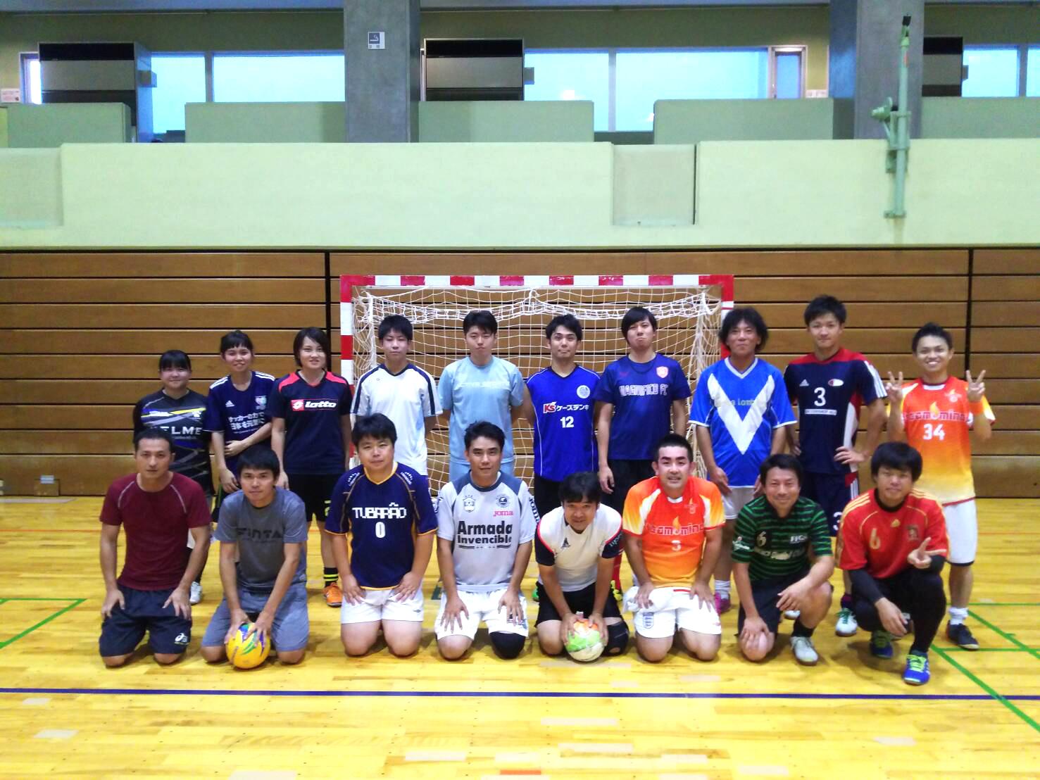 【8/13】三郷deフットサル