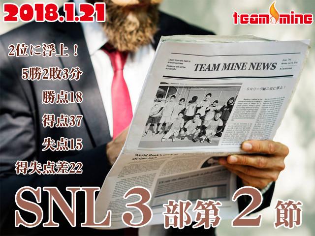 【1/21】MINE SNL3部 2節目
