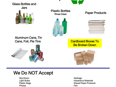 Updated Recycling Guidelines