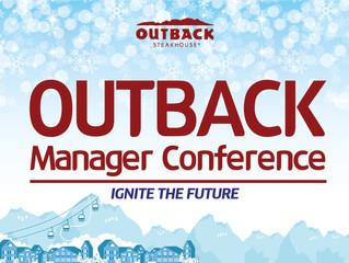 아웃백 2019 Manager Conference(IGNITE THE FUTURE) 행사