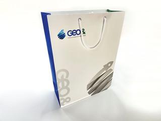 GEO&_쇼핑백 디자인 및 제작