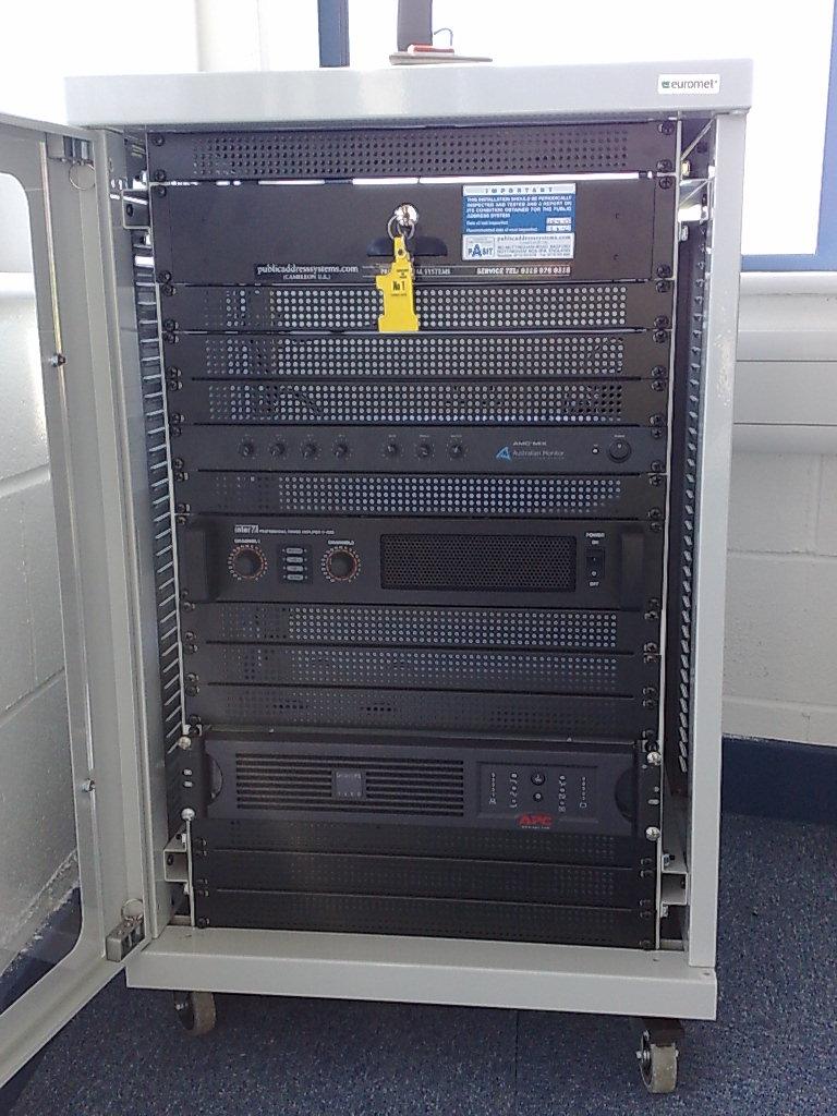 Amplification Rack