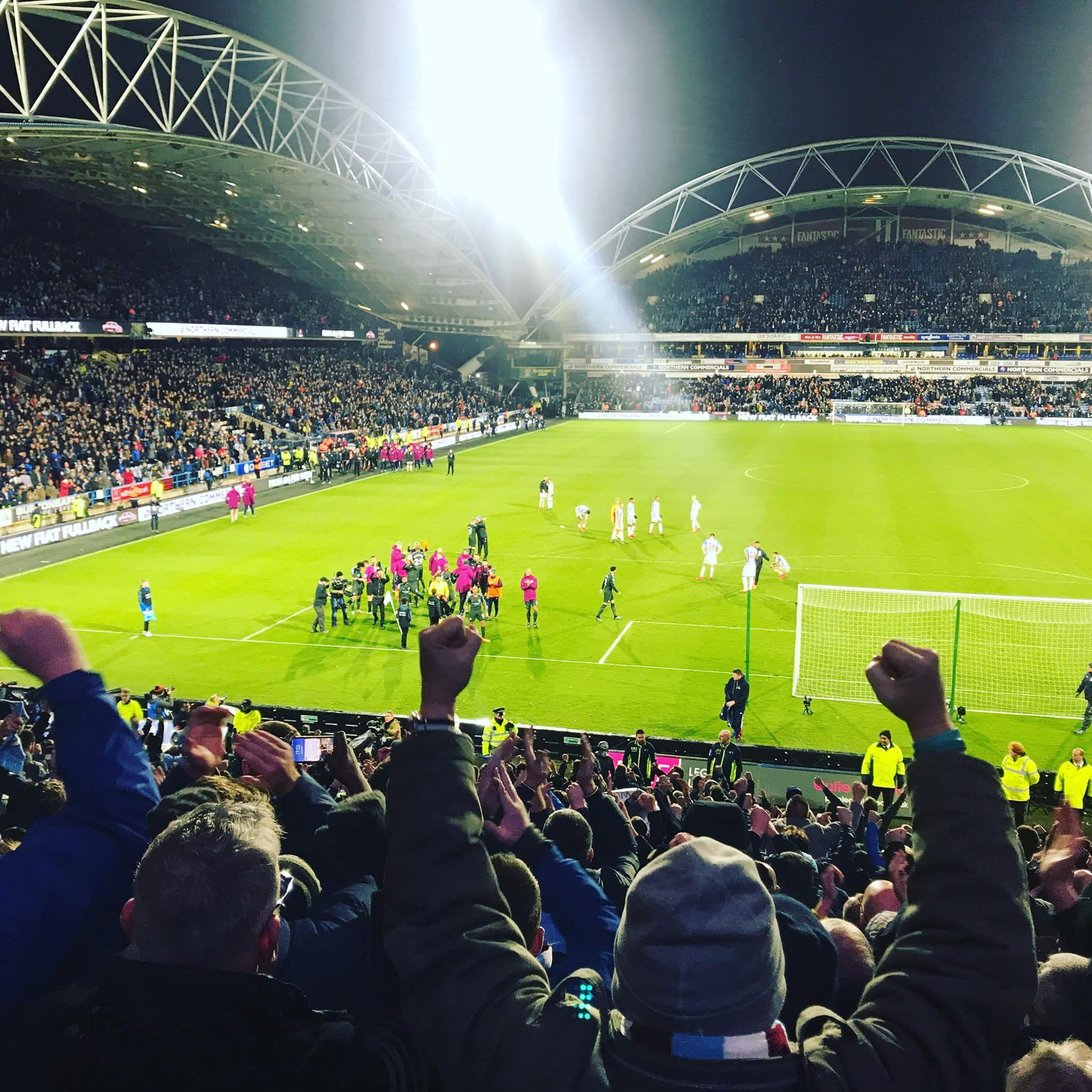 Huddersfield Away November 17