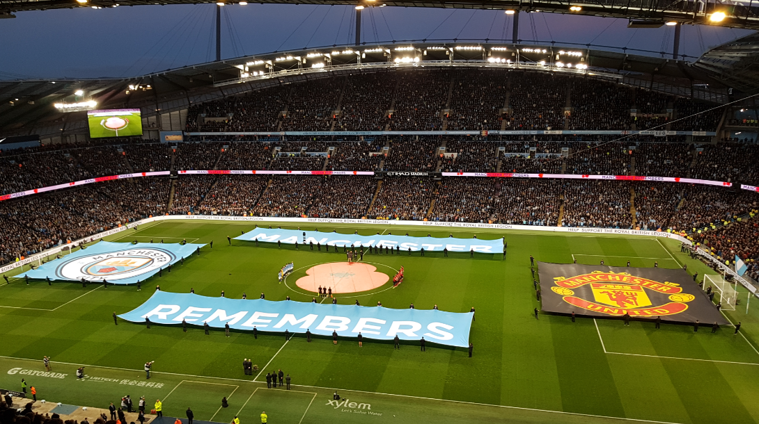 Manchester derby Nov 18