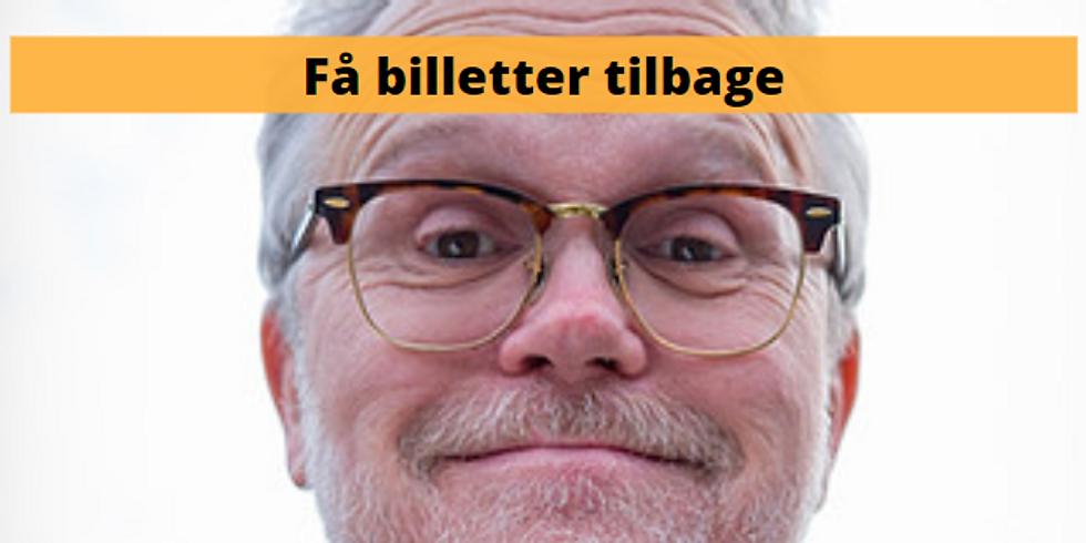 Ib Grønbech + live musik billetter - Begrænset antal