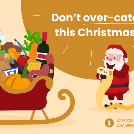 Don't over-cater this Christmas