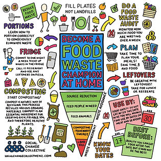 Food Waste - Social Change Collective SQ