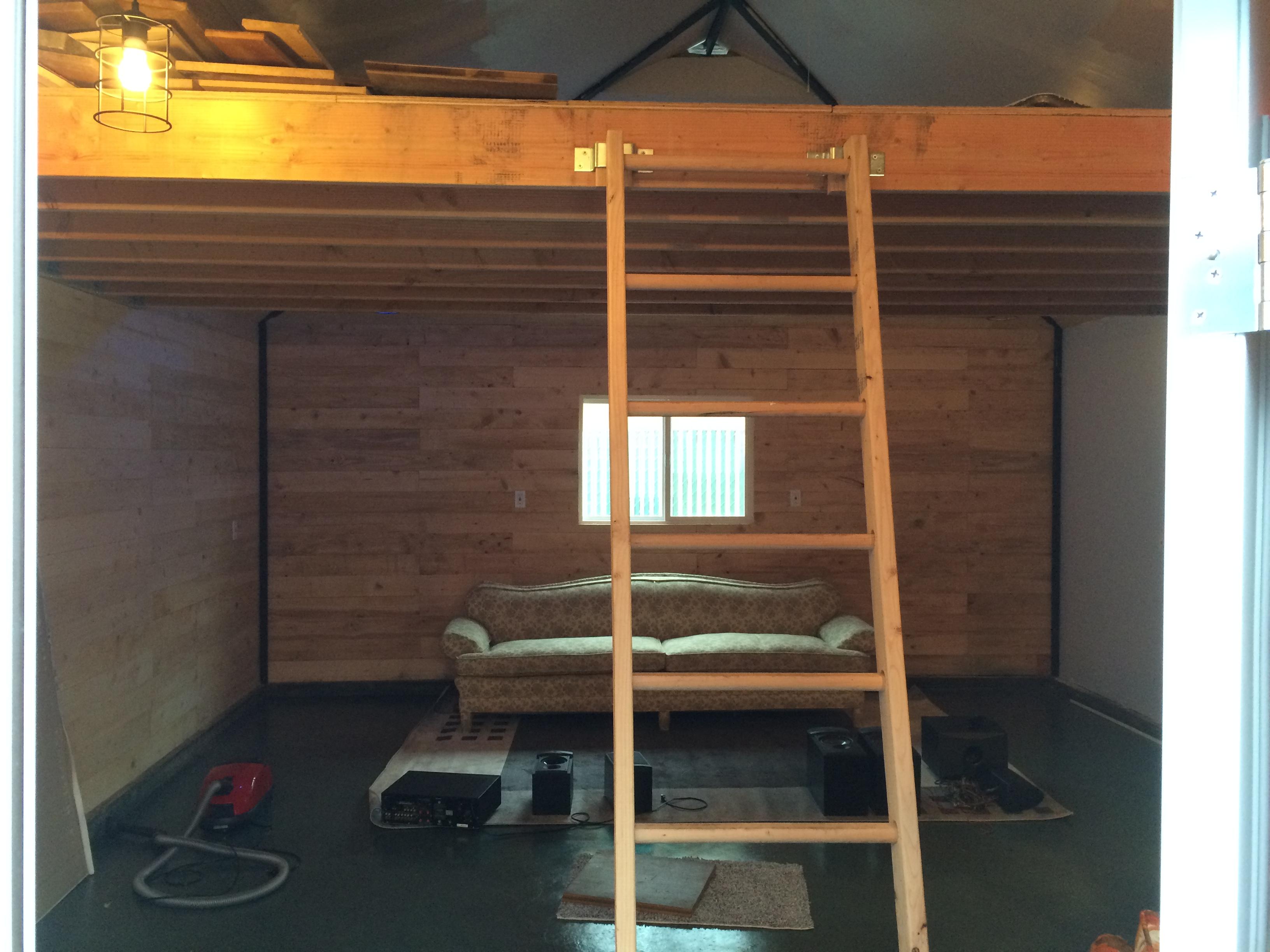 Garage Conversion with Loft