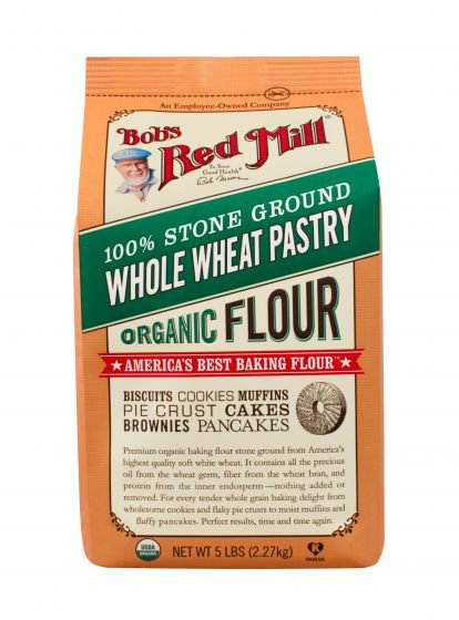 Bob's Red Mill Organic Whole Wheat Pastry Flour 5lb