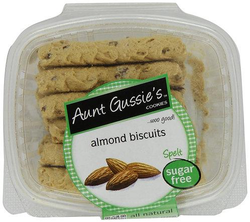 Aunt Gussie's Spelt Sugar Free Almond Biscotti 8oz