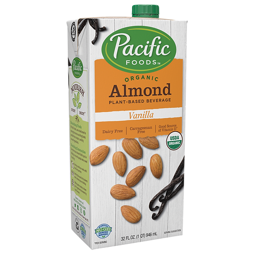 Pacific Foods DF Organic Vanilla Almond Milk 32oz