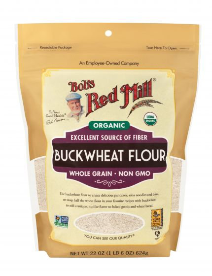 Bob's Red Mill Organic Buckwheat Flour 22oz