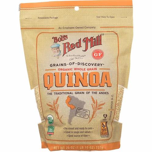 Bob's Red Mill Organic Whole Grain Quinoa 26oz