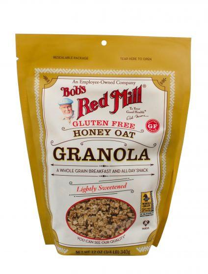 Bob's Red Mill GF Honey Oat Granola 12oz