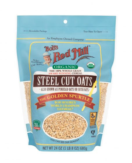 Bob's Red Mill Organic Steel Cut Oats 24oz
