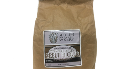 Berlin Spelt Stone Ground Whole Flour 5lbs