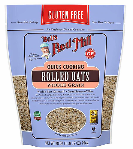 Bob's Red Mill GF Quick Cooking Rolled Oats 28oz