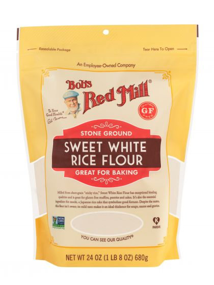 Bob's Red Mill GF Sweet White Rice Flour 24oz