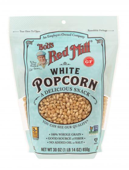 Bob's Red Mill GF White Popcorn 30oz