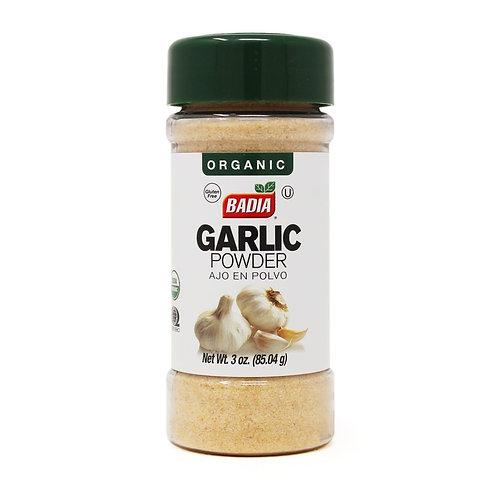 Badia Organic Garlic Powder 3oz