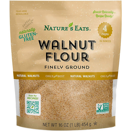 Nature's Eats GF Finely Ground Walnut Flour 16oz