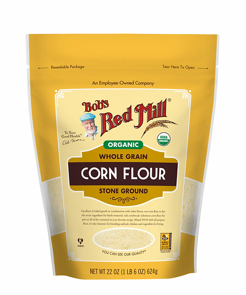 Bob's Red Mill Organic Whole Grain Corn Flour 22oz