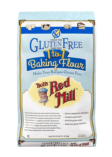 Bobs's Red Mill GF 1 to 1 Baking Flour 25lb