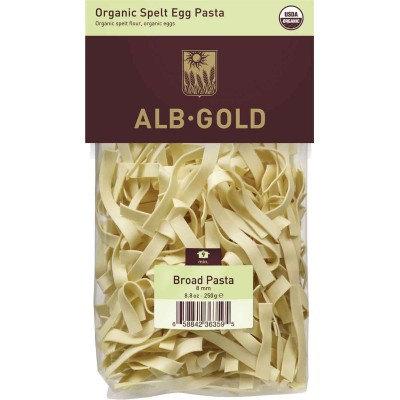 Alb Gold White Spelt Egg Broad Noodle 8.8oz