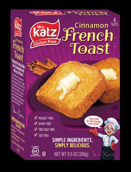 Katz Cinnamon French Toast 9.5oz