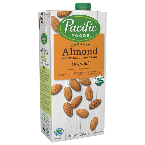 Pacific Foods DF Organic Original Almond Milk 32oz
