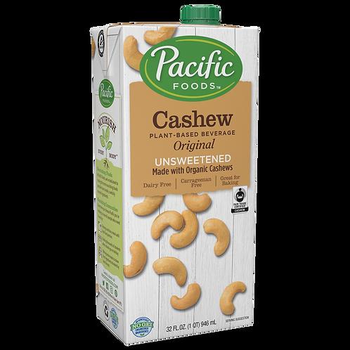 Pacific Foods DF Organic Unsweetened Original Cashew Milk 32oz