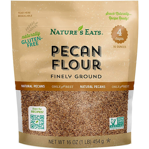 Nature's Eats GF Finely Ground Pecan Flour 16oz