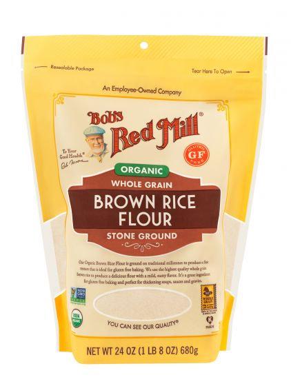 Bob's Red Mill GF Organic Brown Rice Flour 24oz