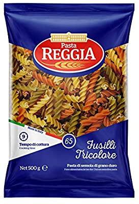 Reggia Semolina Wheat Tricolor Fusilli 500g