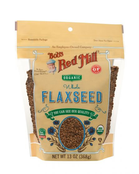 Bob's Red Mill Organic Brown Flaxseeds 13oz